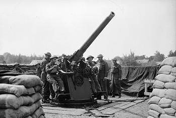 3 inch anti-aircraft gun