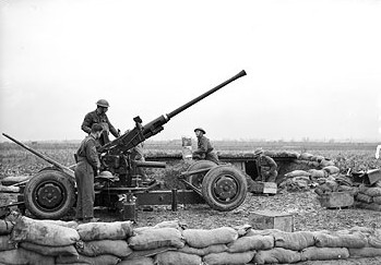 Bofors Anti-Aircraft Gun